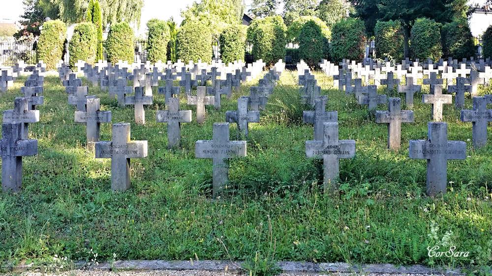 Nel cimitero monumentale di Lubiana