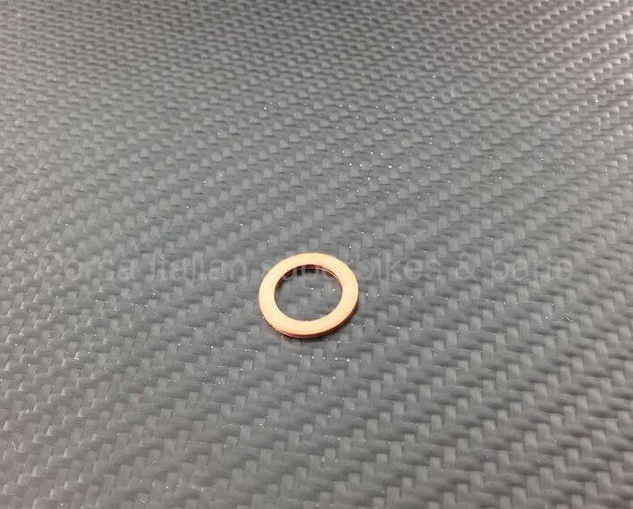 Ducati copper washer / gasket 85250231A