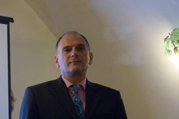 Jacques Bauer au Domaine Orsini de Calenzana :