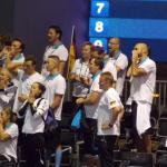 Berlino 2014 - La tribuna tecnica al completo per festeggiare