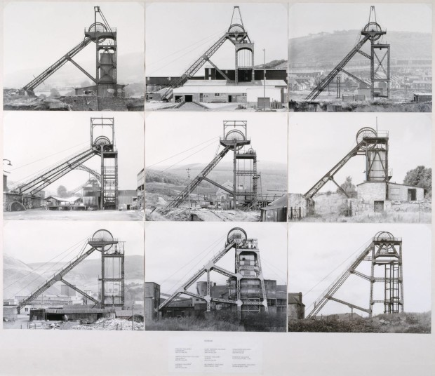 Pitheads 1974 Bernd and Hilla Becher