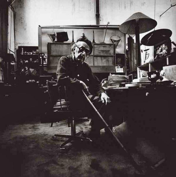 Man Ray, di Lothar Wolleh, Parigi, 1975