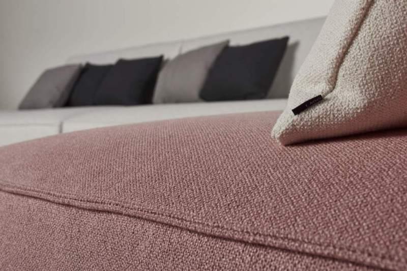 divano con rivestimento in cotone
