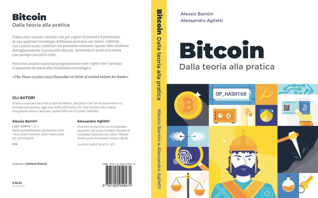 Copertina Libro Bitcoin dalla teoria alla pratica
