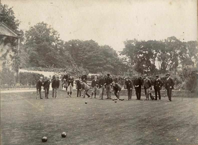Bowls at Dunsmuir circa 1897