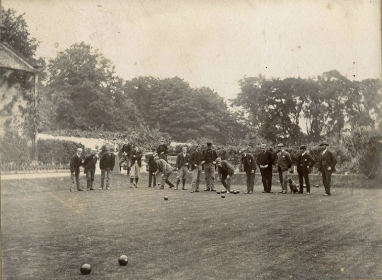 Bowls at Dunsmuir, Corstorphine circ 1897