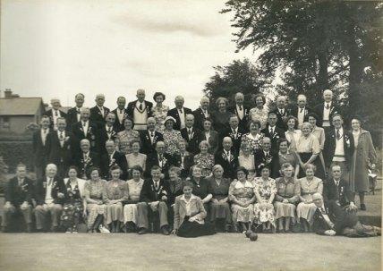 The First Corstorphine Bowling Club Tour - Irish Tour 1951