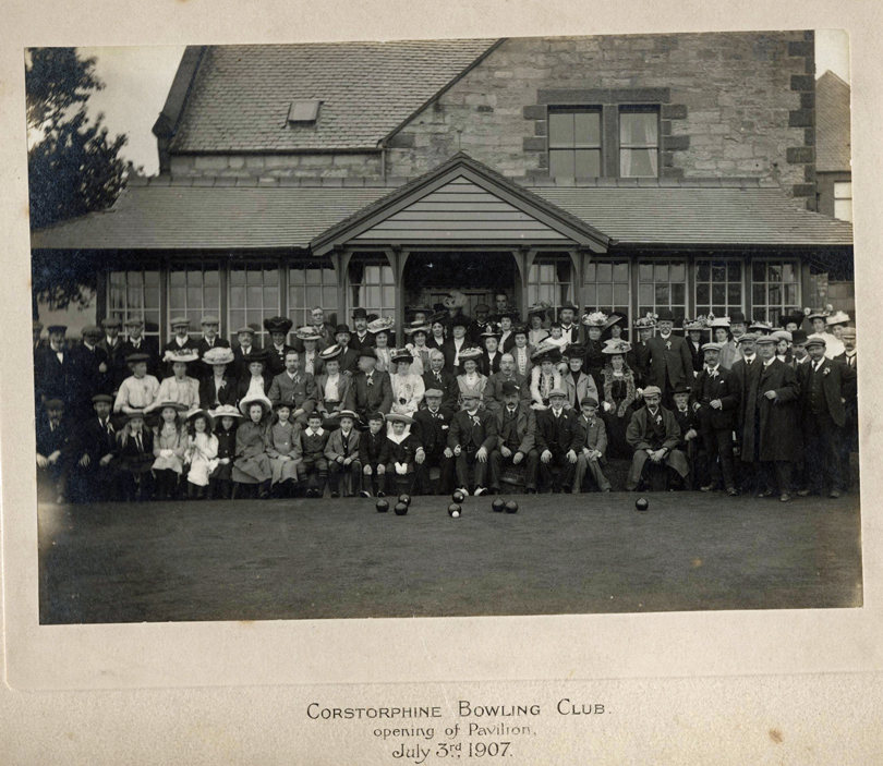 Clubhouse Opening 3rd July 1907