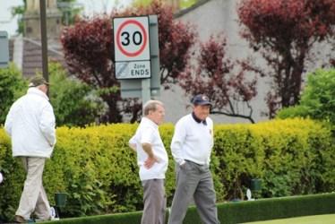 Ian McLaren - Taller than his opponent?