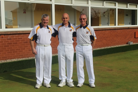 District 15 Triples Winners 2014 Clint Cassidy, David McNiven, Bernie Callaghan