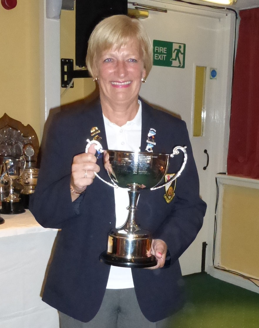 Joan Mitchell - Ladies Captain 2014