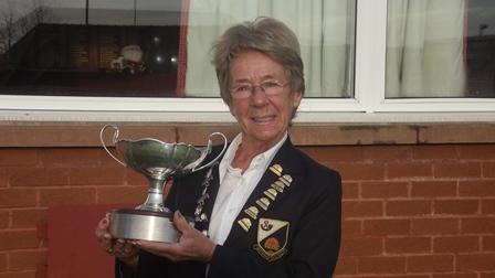 Jean Meiklejohn - Steel Trophy Winner 2013