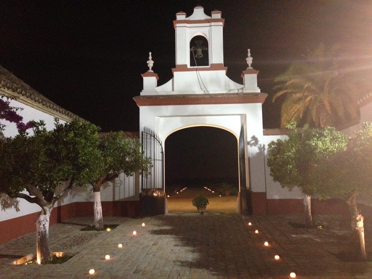 Iluminacin bodas  Celebrar bodas en Sevilla