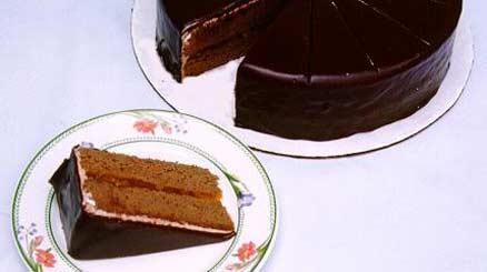 torta sacher Le specialità gastronomiche di Cortina