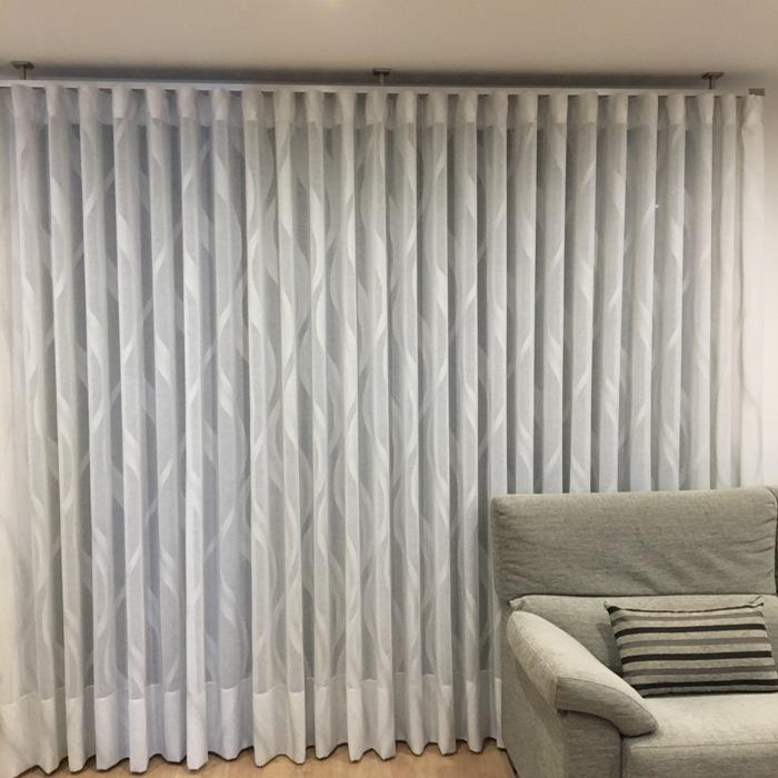 Las cortinas de onda perfecta  Cortinajes Comn