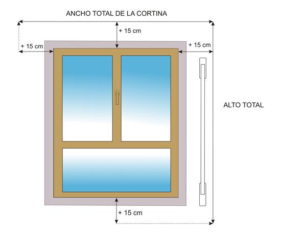 Consejos tiles para medir sus cortinas Roller