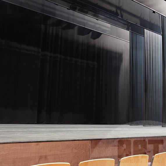 Teln de fondo ancho 600  Arquitectura teatralArquitectura teatral