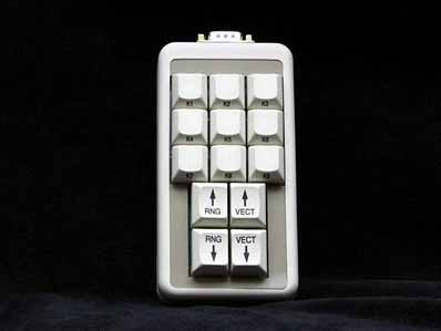 Cortron Model CUSTOM-KP Keypad No Pointing Device  Non-Backlit Table Top Enclosure Hand held controler