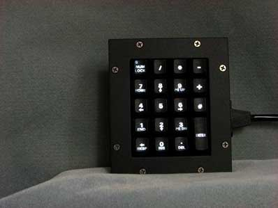 Cortron Model KP19 Keypad No Pointing Device  Backlit Panel Mount Enclosure Gasket accessory
