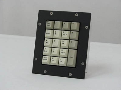 Cortron Model KP19 Keypad No Pointing Device  Non-Backlit Panel Mount Enclosure Mounting Gasket Accessory