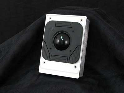 Cortron Model T20D Pointing Device 2 inch DuraTrackball  Non-Backlit Panel Mount Enclosure Rear Connector