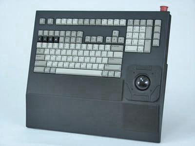 Cortron Model 121 Keyboard T20D  Non-Backlit Rack Mount Enclosure Light Weight.