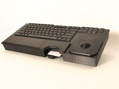 Cortron Model 121 Keyboard T20D  Backlit Table Top Enclosure Extreme shock and water resistance