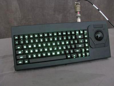 Cortron Model 80 Keyboard T20D  Backlit Table Top Enclosure