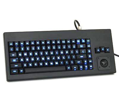Cortron Model 80 Keyboard T14  Backlit Table Top Enclosure