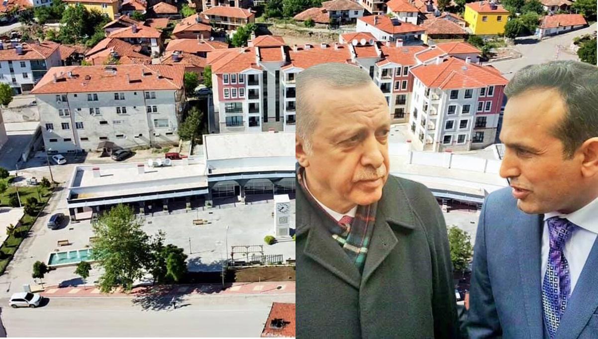 """Uğurludağ'da Meydana """"Recep Tayyip Erdoğan"""" İsmi Verildi"""