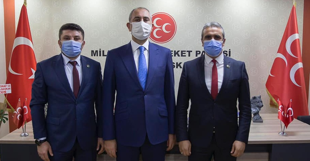 """Adalet Bakanı Gül'den, MHP'ye """"Hayırlı Olsun"""" Ziyareti"""