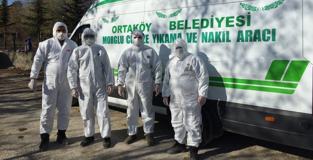 Ortaköy'de Covid-19'a Karşı Özel Ekip