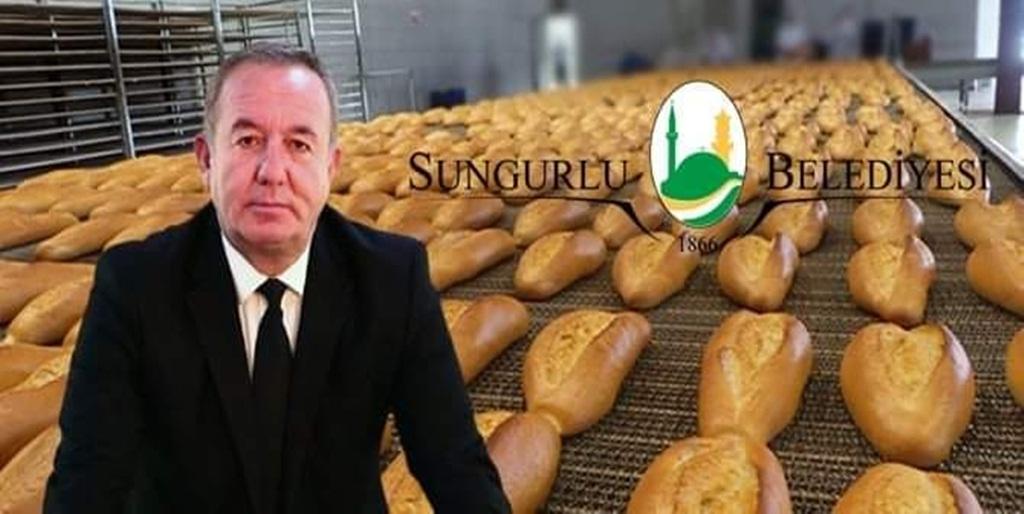 Sungurlu'da Ekmek 1 TL.den Satılacak
