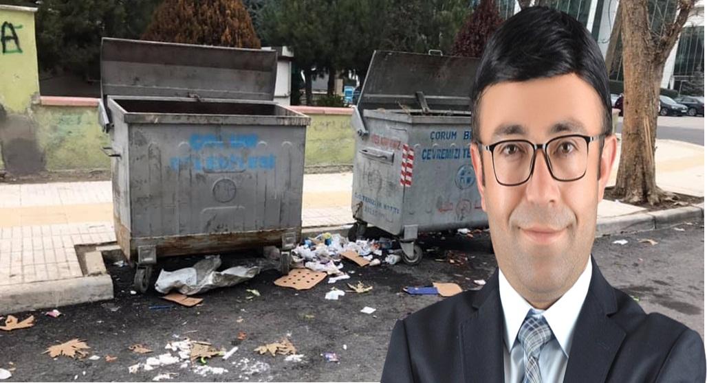 Atılan Çöpler Muhtarı İsyan Ettirdi