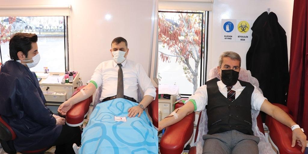 Eğitimcilerden Kan Bağışı Kampanyasına Destek