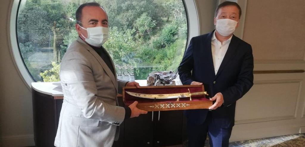 Kazakistan Büyükelçisi İskilip'e Geliyor