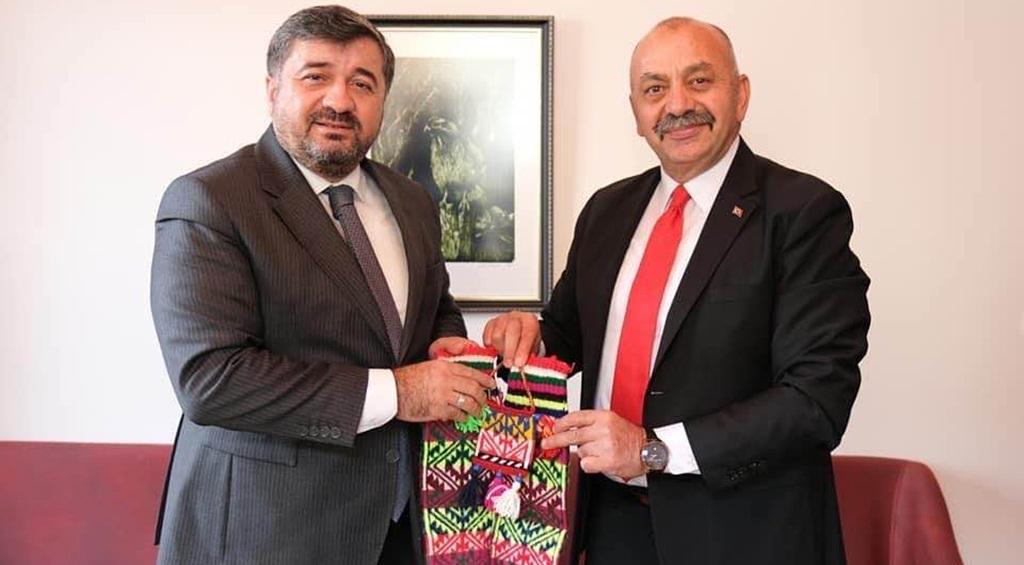 İsbir'den Giresun Belediye Başkanı Aytekin Şenlikoğlu'na Ziyaret