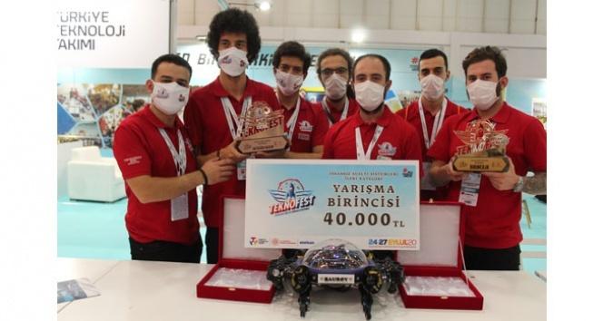 Teknofest 2020'ye Bahçeşehir Üniversitesi damgası