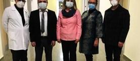 Tabipler Odası Yeni Eğitim Kliniklerini Ziyaret Etti