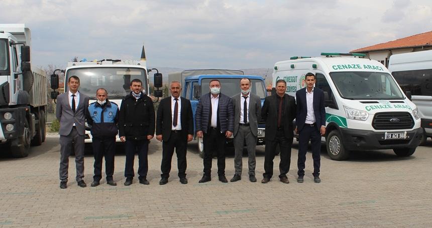 Boğazkale'nin Araç Filosu Güçlendi