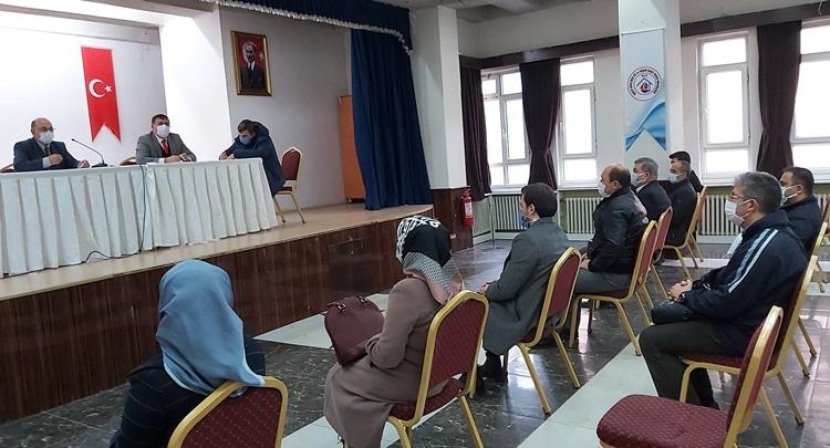 İskilip'te İlçe Milli Eğitim Komisyon Toplantısı Yapıldı