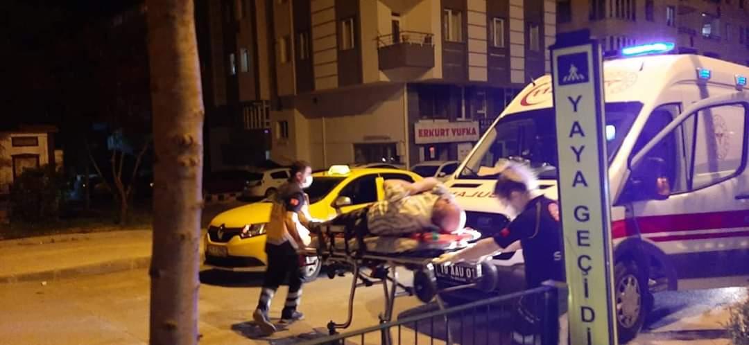 Bahabey'de Kaza: 1 Yaralı