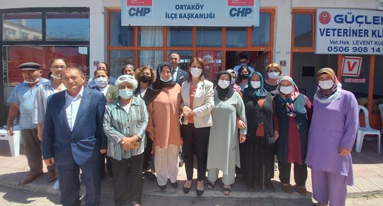 CHP'den Ortaköy ve Mecitözü Çıkarması