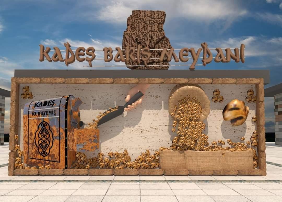 Kadeş Meydanına Hitit Figürleri