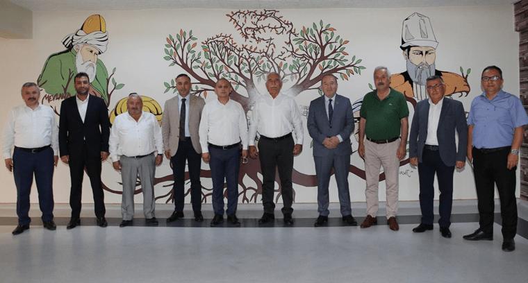 CHP'den Başkan Şahiner'e Ziyaret