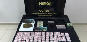 Çorum'da Uyuşturucu Operasyonu