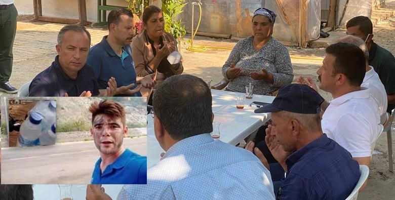 Ceylan, Şahin'in Ailesine Taziyeye Gitti