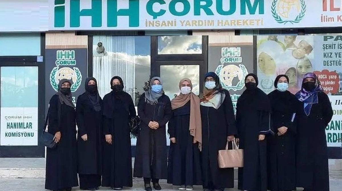 İHH Kadın Kolları Gönüllü Buluşması Düzenledi