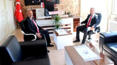 Başkan İsbir'den, Yeni Kaymakama Ziyaret