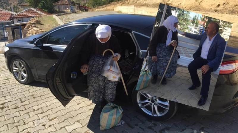 Başkan İsbir, Vatandaşın Gönlünde